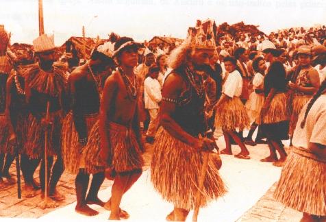 Toré Vila de Cimbres. Foto: Laércio Assis, 1998