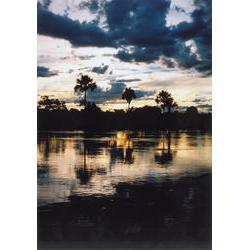PES do Jalapãp (TO)  - Pôr do sol na beira do rio  / Rosimeire Rurico
