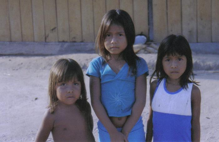 Aldeia Ricardo Franco, Terra Indígena Rio Guaporé. Foto: Nicole Soares Pinto, 2008