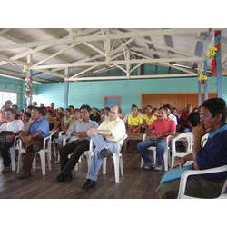 REBIO Piratuba / AP - Assinatura TC Sucuriju: Cerminônia de assinatuara do termo de compromisso com a comunidade do Sucuriju (30/11/2006). 2006  / Patrícia Pinha/ICMBio