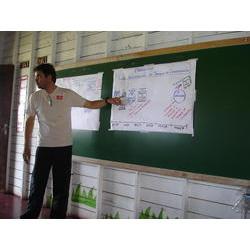 REBIO Piratuba / AP - Processo de Construção TC: Apresentação do processo de construção do termo de compromisso com as populações tradicionais residentes na Rebio do Lago Piratuba (2007). 2007  / Patrícia Pinha/ICMBio