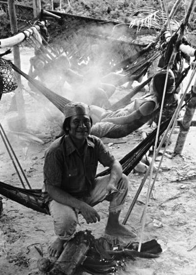 Tsohom Djapá, Caranã village, Jutaí River, Vale do Javari Indigenous Land, Amazonas. Photo: Egon Heck, 1980