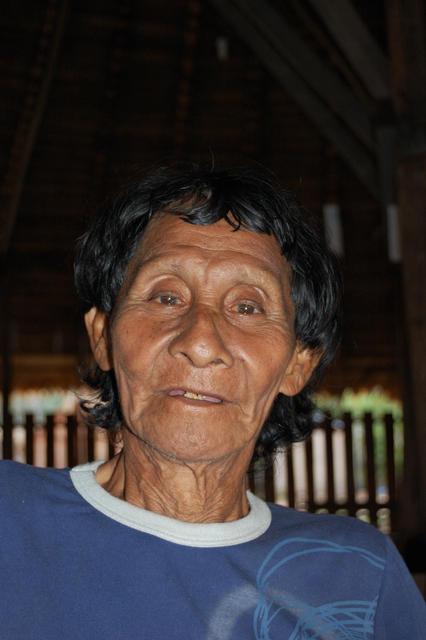 Copoi Hixkaryana, aldeia Riozinho, Terra Indígena Nhamundá/Mapuera, Amazonas. Foto: Ruben Caixeta, 2010