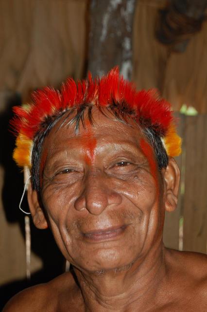 Ahtxe Hixkaryana, aldeia Torre, Terra Indígena Nhamundá/Mapuera, Amazonas. Foto: Ruben Caixeta, 2010