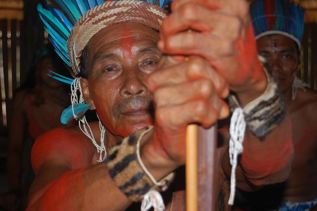Txikirifu Hixkaryana, aldeia Torre, Terra Indígena Nhamundá/Mapuera, Amazonas. Foto: Ruben Caixeta, 2010