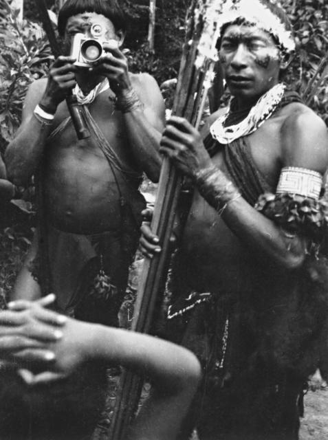 Hixkaryana, rio Mapuera, Terra Indígena Nhamundá-Mapuera. Foto: Protásio Frikel, 1951