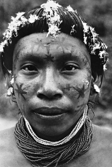 Hixkaryana, Terra Indígena Nhamundá-Mapuera. Foto: Yves Billon, 1971