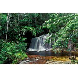 Parque Nacional da Serra do Divisor (AC) - Cachoeira Formosa  / Araquém Alcântara - www.terrabrasilimagens.com.br