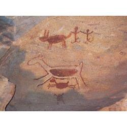 PARNA da Serra da Capivara (PI) - Criado em 1979, o parque abriga densa concentração de sítios arqueológicos datados de mais de 60.000 anos atrás, um forte argumento para a aceitação da antiga presença humana na América. 2006 / Silvia Futada/ISA