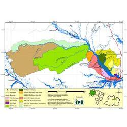 Mapa Mosaico Baixo Rio Negro  / IPE