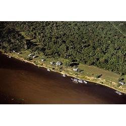 RDS Mamirauá (AM) - foi a primeira reserva de desenvolvimento sustentável criada no brasil, sendo o Instituto de Desenvolvimento Sustentável Mamirauá (IDSM) cogestor desta UC.  / Araquém Alcântara - www.terrabrasilimagens.com.br