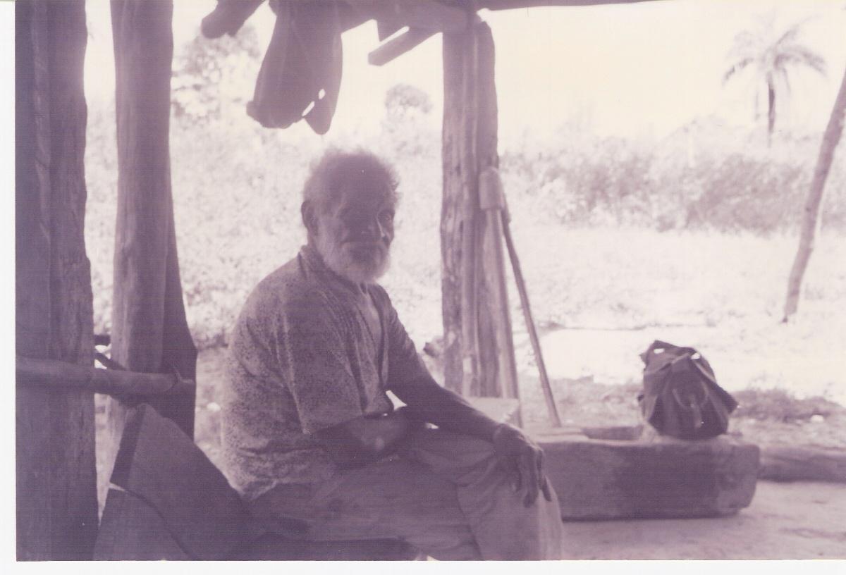 Simão. Observe a casa, o pilão, 1980