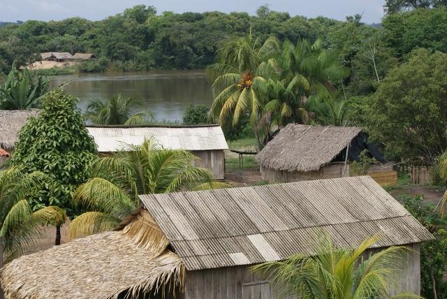 Aldeia Arara da Volta Grande do Xingu. Foto: Rafael Salazar, 2009.
