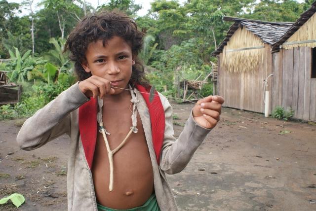 Indio Arara da Volta Grande do Xingu. Foto: Rafael Salazar.