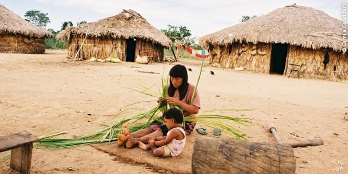Fotos de canoas indigenas