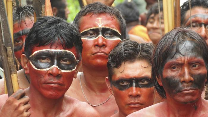 Manifestação promovida pela Hutukara para retirada dos fazendeiros da região do Ajarani, Terra Indígena Yanomami